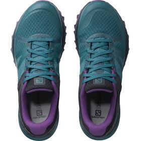 Salomon W's Trailster GTX Shoes deep lagoon/navy blazer/purple magic